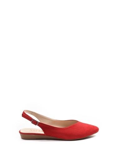 Sapin Sandalet Kırmızı